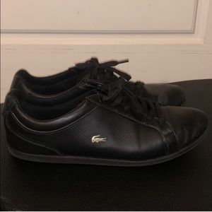 Lacoste Black Leather Shoes